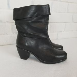 Dansko Leather Booties